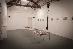 The Deserted Village exhibition by Voist at The Depot Clapton (© Voist Ltd.)