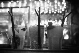 Cocktails, black and white, Club Soda image © Voist Ltd